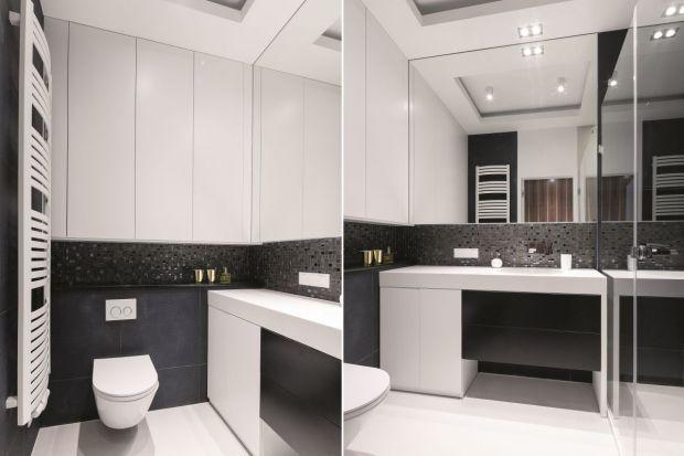 Zabudowa robiona na wymiar wciąż cieszy się większą popularnością niż gotowe meble łazienkowe. Zobaczcie jak wykorzystać jej atuty i wyposażyć łazienkę w szafki pod sam sufit.