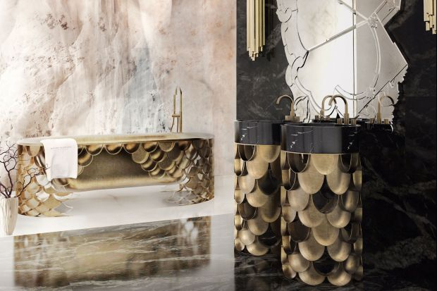 Łazienka jak salon kąpielowy: 10 modeli podłogowych umywalek