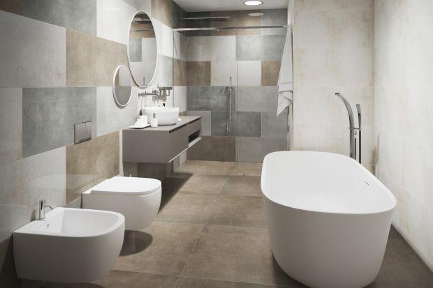 Jak urządzić ponadczasową i wysmakowaną łazienkę? Warto sięgnąć po płytki gresowe. Zobaczcie nową kolekcję o formacie 80x80 cm.