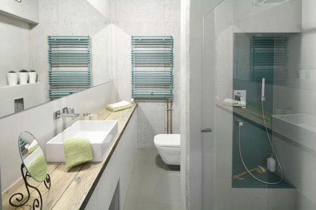 Łazienkowy blat to ważny element aranżacji pomieszczenia. Zobaczcie pomysły proponowane przez polskich projektantów wnętrz!