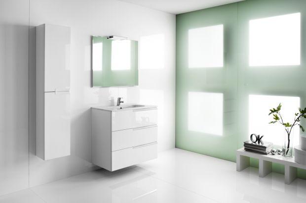 Meble łazienkowe: 5 kolekcji w bieli