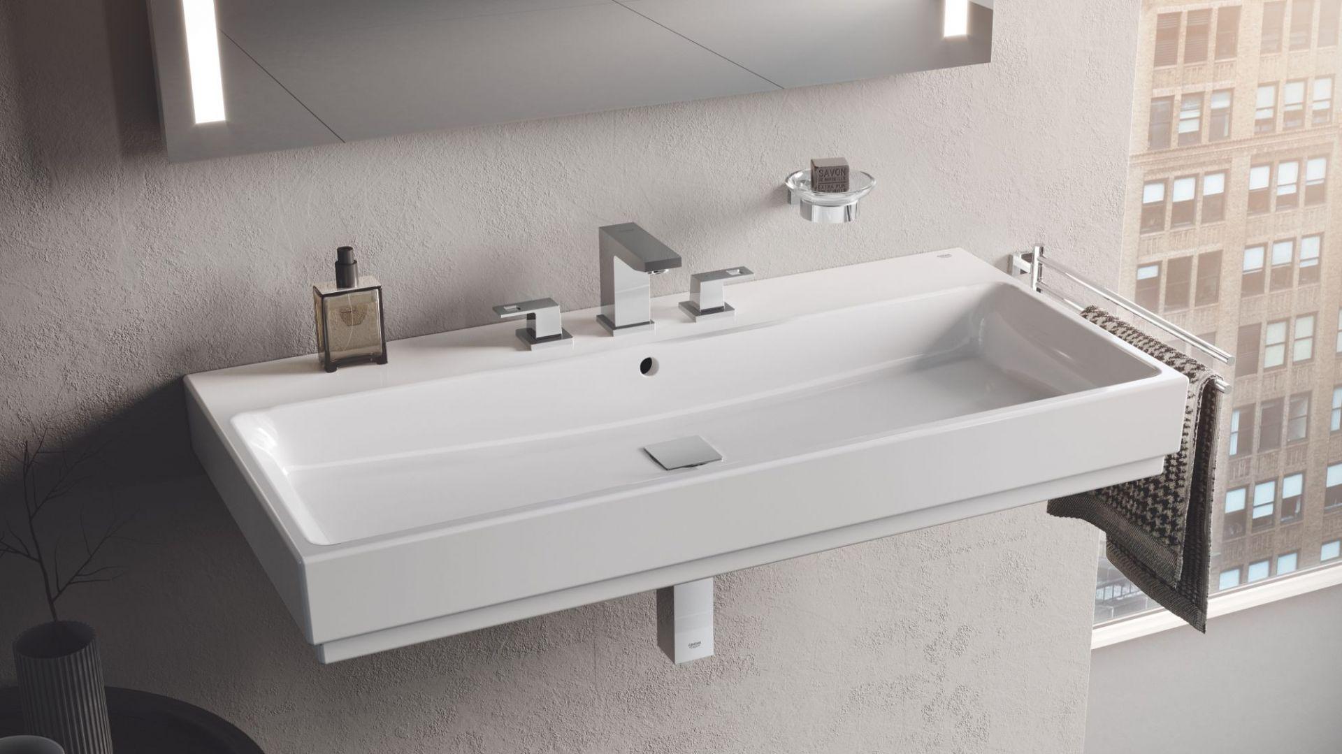 Ceramika sanitarna z serii Grohe Cube Ceramic. Fot. Grohe