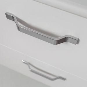 Uchwyt aluminiowy UA107 w chromie marki Gamet. Fot. Gamet