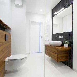 Oświetlenie w łazience. Proj. MGN Pracownia Architektury Wnętrz
