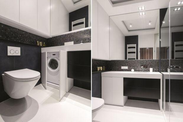 Jak wygospodarować miejsce na pralkę w łazience, aby sprzęt AGD nie psuł wystroju? Najlepiej wkomponować go w zabudowę!