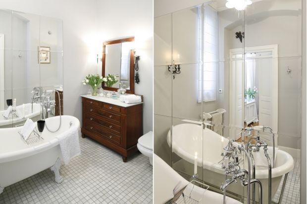 Chociaż wokół panuje moda na minimalizm, wiele osób decyduje się na ponadczasową klasykę przy urządzaniu łazienek. Zobaczcie jak prezentują się takie wnętrza.