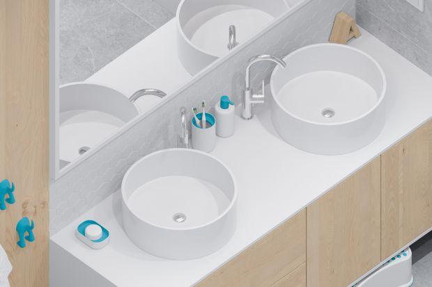 W każdej łazience nie może zabraknąć umywalki. Szczególnie urokliwie prezentują się modele o okrągłych kształtach.