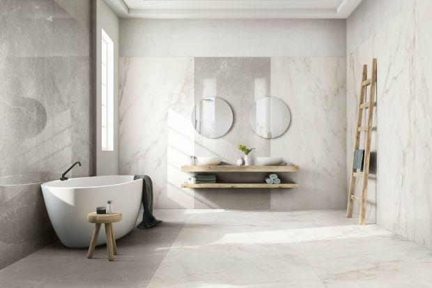 Bez wątpienia jednym z najgorętszych trendów aranżacyjnych w łazienkach są wielkoformatowe płytki. Zobaczcie co proponują producenci (również nowości prosto z Cersaie 2018).