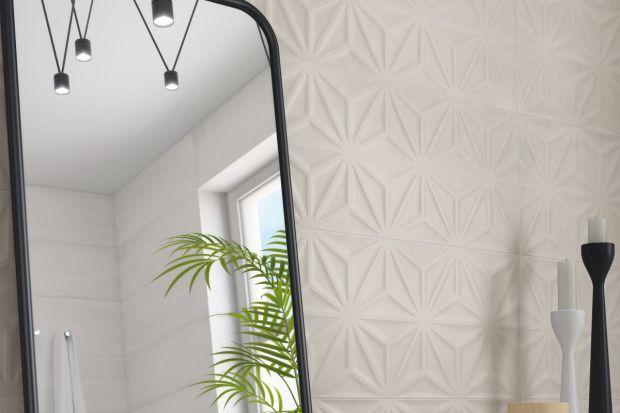 Strukturalne płytki ceramiczne, zwane również płytkami 3D to jeden z modniejszych wyborów na okładzinę ścian w łazience.