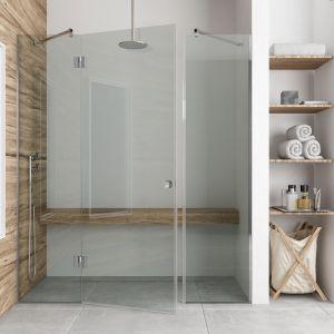 Drzwi prysznicowe do wnęki łazienkowej Emanuel. Fot. Glasimo