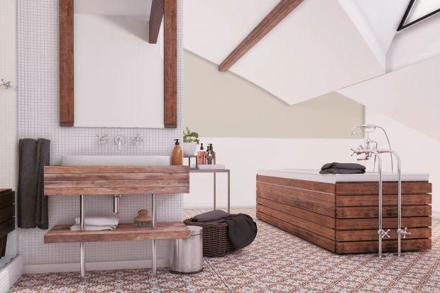 Ściany w łazience - nie tylko płytki