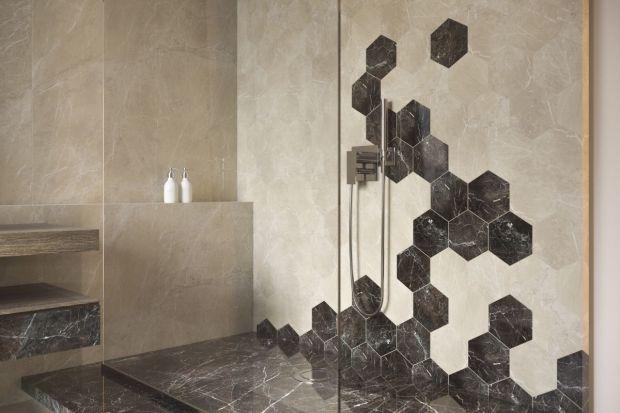 Heksagon to wciąż najmodniejszy kształt do aranżacji wnętrz. Zobaczcie kolekcje płytek zainspirowane plastrami miodu!