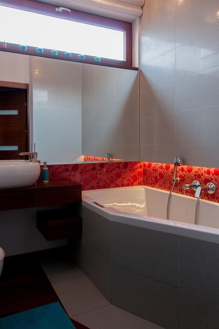 Aranżacja łazienki. Proj. The Space