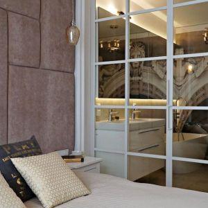 Łazienka przy sypialni. Proj. Barbara Godawska, iHome Studio.