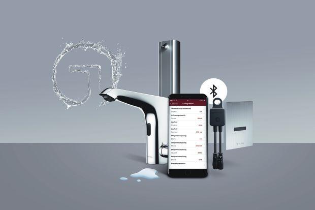 Nowoczesna łazienka: armatura sterowana przez Bluetooth