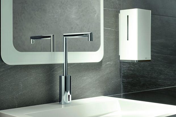 Nowoczesna łazienka to nie tylko minimalistyczny wystrój wnętrza, ale także funkcjonalne technologie. Warto na przykład zastanowić się nad montażem baterii bezdotykowej.