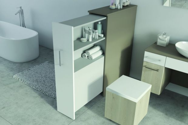 Nawet w niedużej łazience możemy zorganizować wygodną strefę przechowywania, w której wszystko będzie miało stałe miejsce, a my zapewnimy sobie wygodny dostęp. Wystarczy kilka pomysłowych rozwiązań, aby ułatwić codzienne korzystanie z łaz