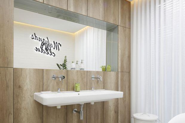 Z nowoczesnymi aranżacjami łazienek idealnie współgrają podtynkowe baterie umywalkowe. Zobaczcie jak wyglądają w polskich domach!