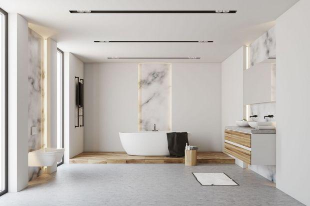 Nic tak nie dodaje prestiżu łazience jak naturalny kamień, zwłaszcza jeżeli jest to piękny biały marmur kararyjski.