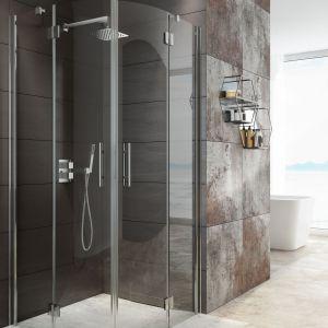 Kabina prysznicowa półokrągła Abelia marki Deante. Fot Deante