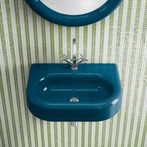 Umywalka montowana do ściany z serii The Mahdavi Collection marki Bisazza. Fot. Bisazza