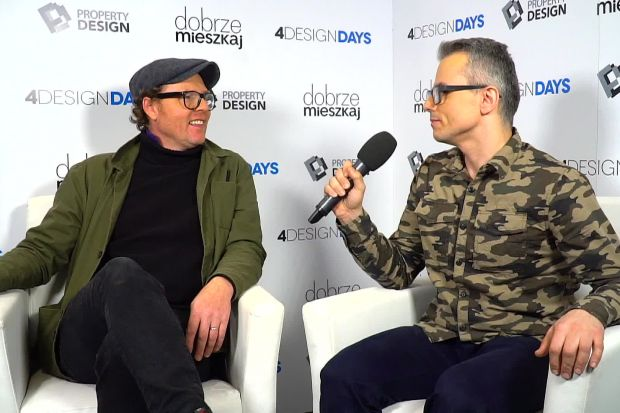 """O tym, czy Polacy są kreatywni oraz jaką rolę pełni dla nich redesign i recycling opowiada Jimi Ogden, designer i prowadzący program """"Rzeczy Od-Nowa"""" w telewizji HGTV."""