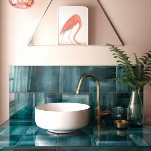 Kolorowe płytki ceramiczne z kolekcji Habitat marki Equipe Ceramicas. Fot. Equipe Ceramicas