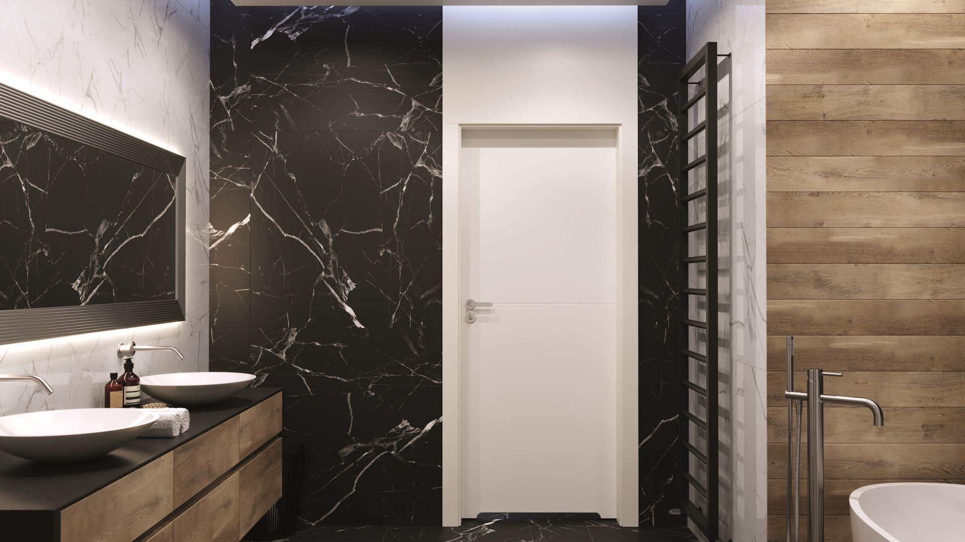 Drzwi w łazience Porta Desire. Fot. Porta