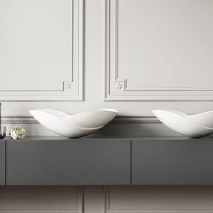 Do efektownej strefy umywalki: umywalka z serii Serenity by Kelly Hoppen marki Apaiser. Fot. Apaiser