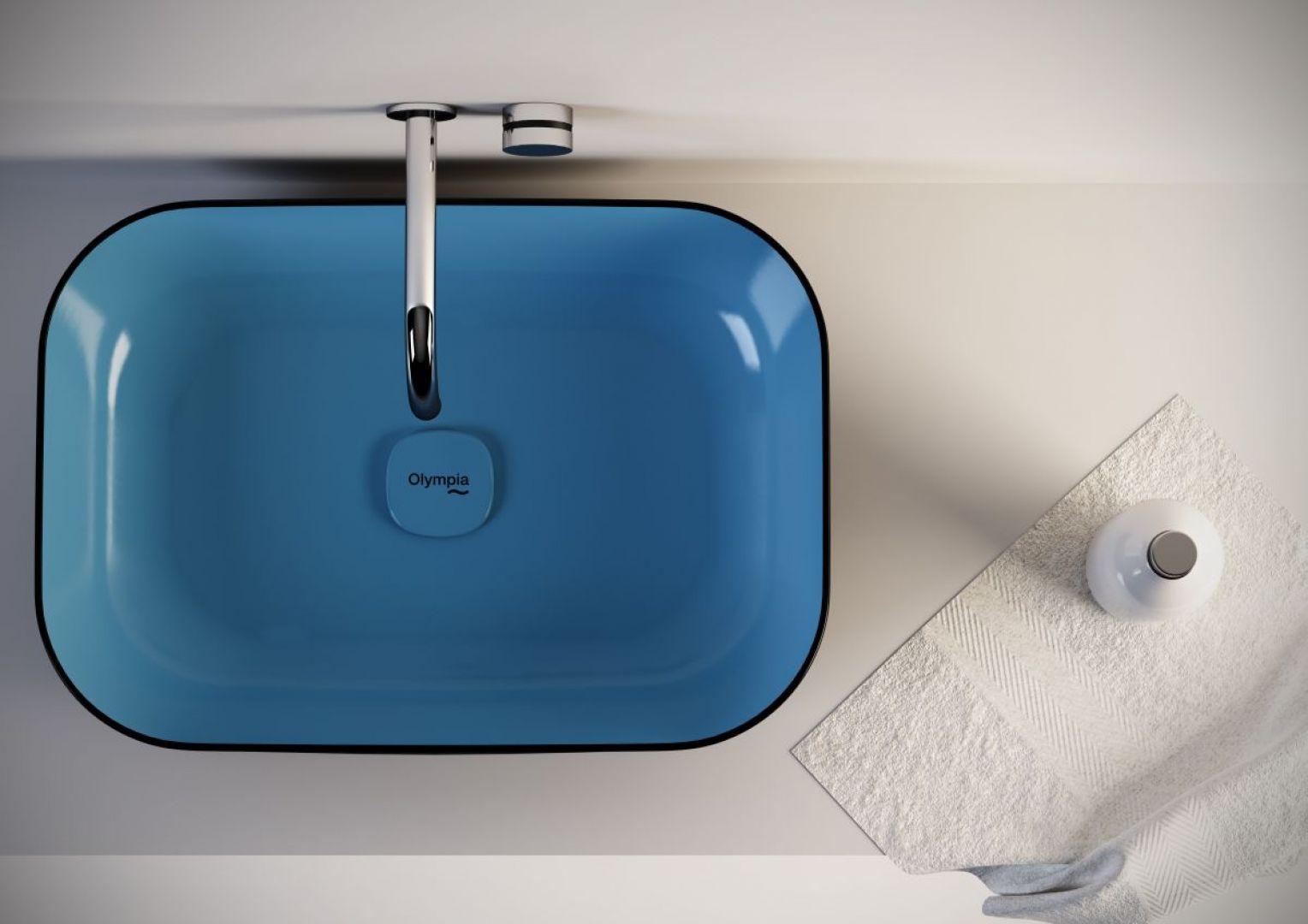 Do efektownej strefy umywalki: umywalka z serii Metamorfosi marki Olympia Ceramica. Fot. Olympia Ceramica