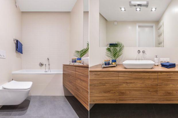 Jak urządzić małą łazienkę, aby była funkcjonalna i wydawała się większa? Radziarchitekt wnętrz, Monika Pniewska.