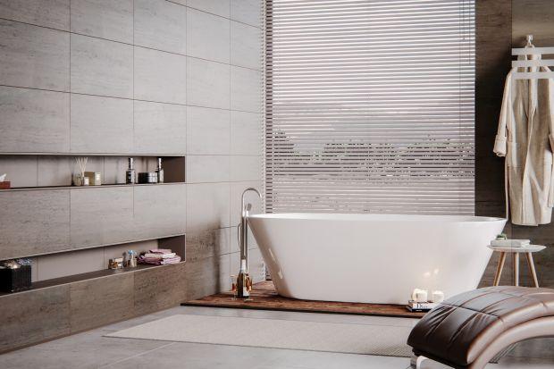 """Wanny wolnostojące, niegdyś kojarzone wyłącznie z ekskluzywnymi łazienkami, obecnie coraz częściej spotkać możemy również w bardziej """"domowych"""" wnętrzach.Obecność wanny wolnostojącej w łazience podnosi swoisty prestiż pomieszc"""