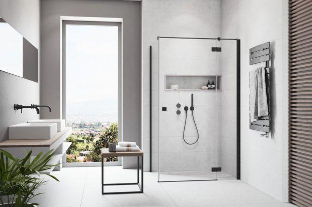 Czarne detale w aranżacji łazienki to absolutny hit tego roku. Zwłaszcza jeżeli mówimy o kabinach prysznicowych. Zobaczcie jak się prezentują kabiny z czarnymi detalami.