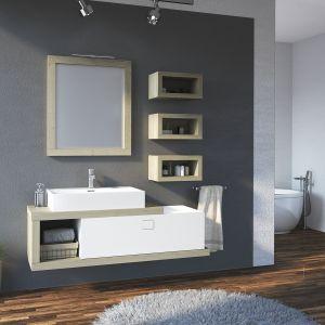 Szafka pod umywalkę z kolekcji mebli łazienkowych Fifa marki Devo. Fot. Devo