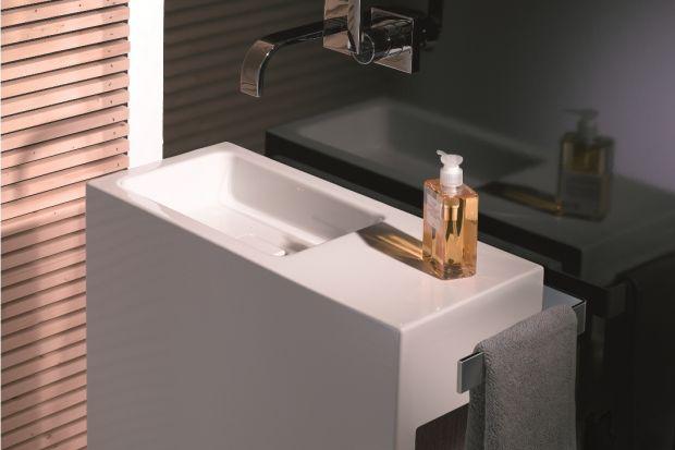 Łazienka dla gości to wizytówka domu. Zobaczcie eleganckie umywalki niemieckiej marki, które idealnie wpiszą się w reprezentacyjny charakter łazienek gościnnych.