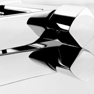 Kubistyczna forma baterii Morganit. Fot. KFA Armatura