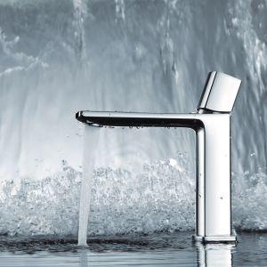 Nowoczesna rodzina baterii Morganit trafi w gusta osób ceniących styl modernistyczny i minimalistyczny. Fot. KFA Armatura