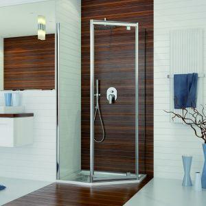 Pięciokątna kabina prysznicowa PKDJ/TX5 marki Sanplast. Fot. Sanplast