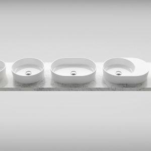"""Wyróżnienie w kategorii """"Wyroby sanitarne z ceramiki i innych materiałów"""": umywalka Moon/Ravak"""