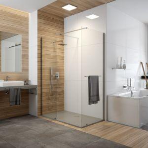 """Wyróżnienie w kategorii """"Kabiny prysznicowe"""": kabina typu Walk-In serii Free Line II - P/Free II/Sanplast"""
