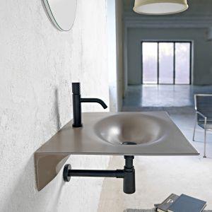 Kolorowa umywalka Veil marki Scarabeo Ceramiche. Fot. Scarabeo Ceramiche