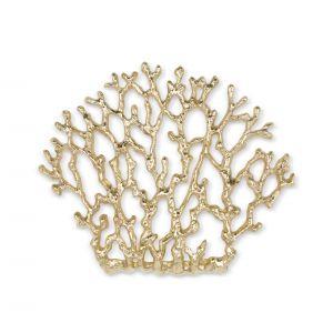 Mosiężny uchwyt meblowy Coral XL z kolekcji Organic. Fot. Pap Deco