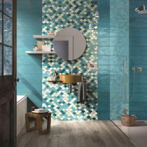 Kolorowe płytki ceramiczne z kolekcji Shades marki Imola Ceramica. Fot. Imola Ceramica