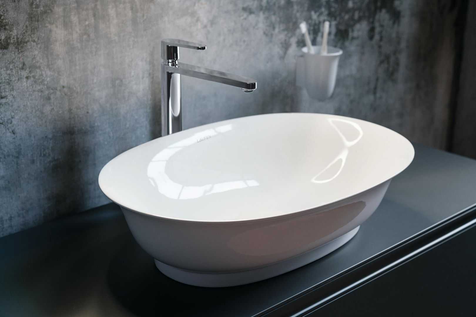 Umywalka z serii New Classic marki Laufen. Fot. Laufen