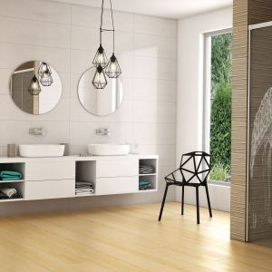 Kabina prysznicowa IDEA KDJ z laserowym grawerem żurawi marki Radaway. Fot. Radaway