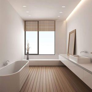 Oświetlenie w łazience: oczko sufitowe Trimless. Fot. Tomix.pl