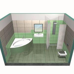 Mokre strefy w łazience. Fot. Sopro