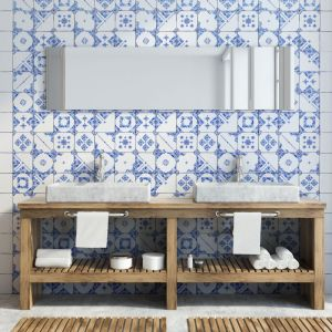 Płytki jak patchwork z kolekcji Mayolica marki Living Ceramics. Fot. Living Ceramics