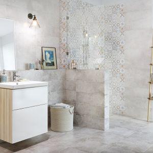 Płytki jak patchwork z kolekcji Concrete Style marki Cersanit. Fot. Cersanit