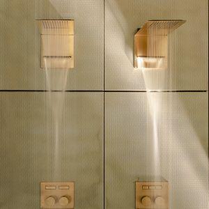 Seria armatury prysznicowej Hi-Fi marki Gessi. Fot. Gessi